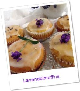 Lavendelmuffins